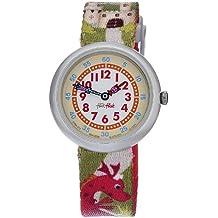 Flik Flak FBN077 - Reloj analógico infantil de cuarzo con correa de plástico multicolor