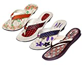 Krocs Super Comfortable Combo Pack of 3 Pair Flip Flop with 1 Pair Slippers For Women