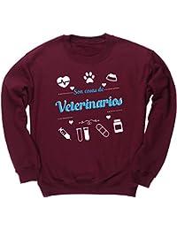 HippoWarehouse Son Cosas de Veterinarios jersey sudadera suéter derportiva unisex