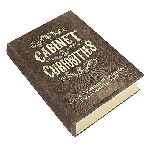 Boîtes de rangement de livres The Curiosities Collection - Plusieurs styles différents, Bois dense, Curiosities, 9.5x6x2.5cm