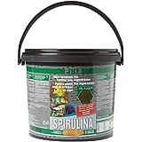 JBL Premium Alleinfutter für algenfressende Aquarienfische, Flocken 5,5 l, Spirulina 30003