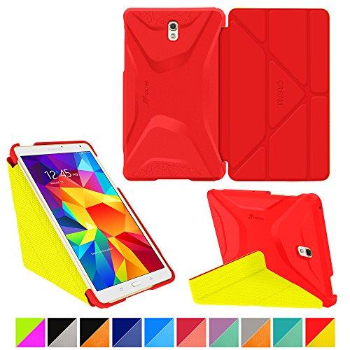roocase-samsung-galaxy-tab-s-84-case-origami-3d-testarossa-red-tangerine-yellow-slim-shell-84-inch-8