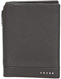 Cross Neuva FV Men's Global Passport / Travel Wallet With Cross Pen - Oak Brown