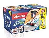 Vileda Wischmat ActiveMax Komplett-Set - Ideal für die gründliche Reinigung bis in jede Ecke