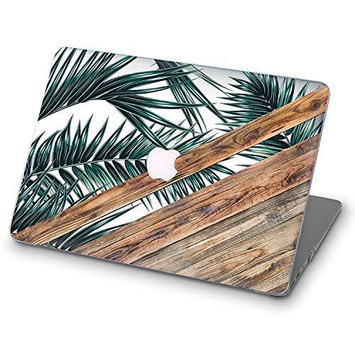 Apple MacBook Air 13 2018 Cover für MacBook Apple Wood and Leaves Mac Air 13