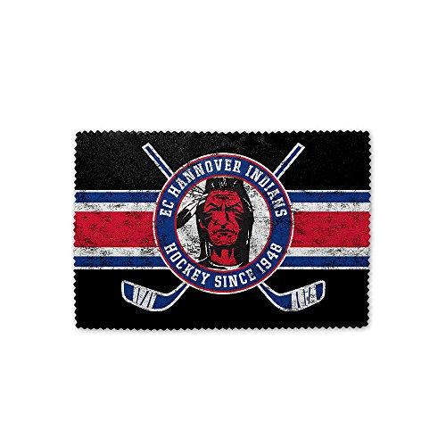 """Hannover Indians """"Schläger"""" Mikrofaser Brillenputztuch"""