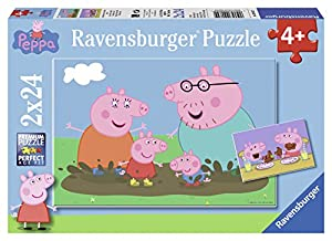 Ravensburger Spieleverlag GmbH - Rompecabezas Peppa Pig, 24 Piezas (9082)