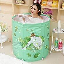 bañera adulto niño bañera plegable bañar bañera plástico bañera regalo verde ideas de moda 70 * 70cm