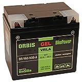 Orbis Gel53034 Motorradbatterie - C60-N30-A 53034 12 Volt 30 Ah 400 A