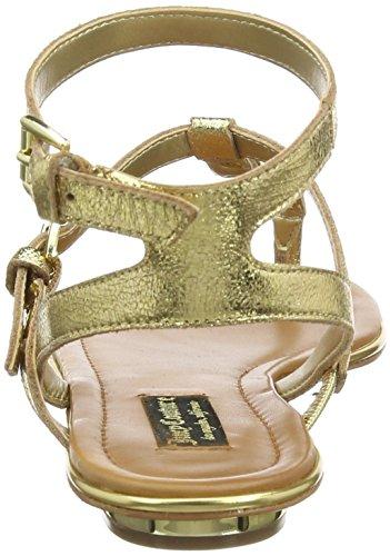 Juicy Couture Damen Marianna Sandalen Gold Metallic