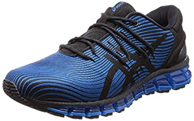 ASICS Gel-Quantum 360 4, Chaussures de Running Homme, Multicolore (Race Blue/Black 400), 40 EU