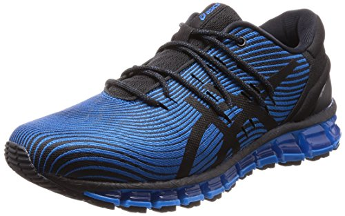 ASICS Gel-Quantum 360 4, Chaussures de Running Homme, Multicolore (Race Blue/Black 400), 42.5 EU