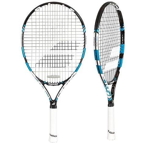 BABOLAT Pure Drive 23 Junior Tennis Racket, Black/Blue