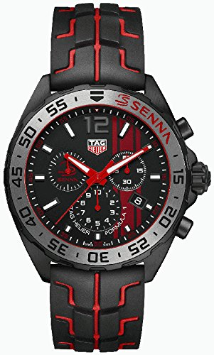 Tag Heuer Formula 1 Black Opalin Dial Mens Chronograph Watch CAZ1019.FT8027