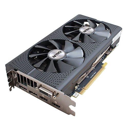 Sapphire Technology 11260-13-20G Carte Graphique Nitro Radeon RX 480 4G GDDR5 PCI Express