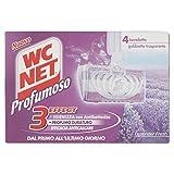 Wc Net Tavolette Profumate con Lavanda - Confezione da 4 Pezzi