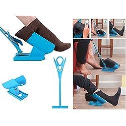 takestop Accessoire ergonomique pour enfiler et enlever les chaussette et bas sans devoir se plier, évite les maux de dos