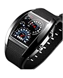 Samgu-SILIKON DOT MATRIX LED WATCH HERREN UHR DAMEN UHR BINÄRE