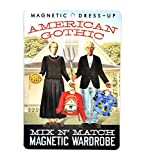 The Unemployed Philosophers Guild American Gothic Magnetic Dress Up Doll Play Set