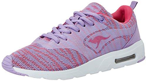 KangaROOS Damen Kangacore 2106 K Sneaker Violett (Lilac/Magenta)