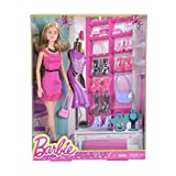 Barbie Doll and Shoes Giftset - DMK56
