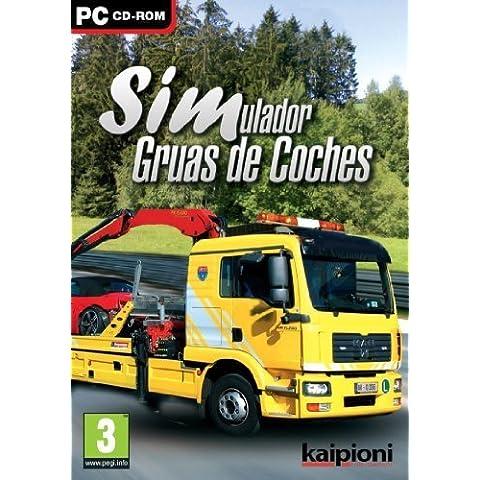 Simulador de conductor de Gruas de Coche Español