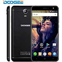 DOOGEE X7 Pro VR Smartphone, Android 6.0 4G Movile Libre ( Pantalla 6 IPS, Cámara 8 MP, 16GB ROM )Telefonos Celulares OTG - Negro