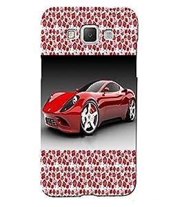 Fuson 3D Printed Car Designer back case cover for Samsung Galaxy Grand 3 - D4176