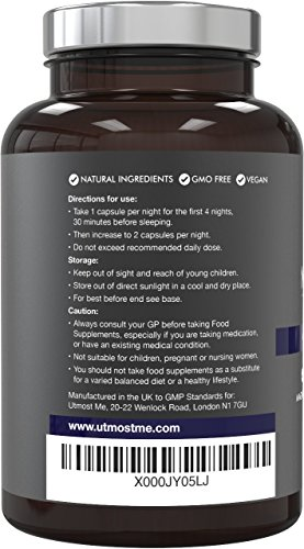 5-HTP + Magnesium + Natural Melatonin Sleeping Aid - Montmorency