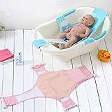 Recién nacido asiento baño del bebé Stillcool accesorios de baño de soporte del asiento baño de ducha del bebé recién nacido del bebé Baño de seguridad (rosa) (Azul) - StillCool - amazon.es