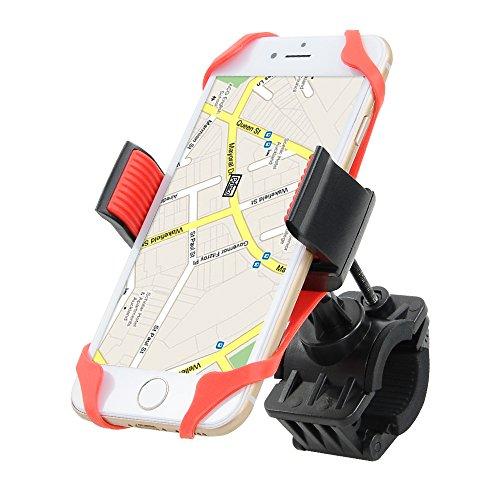 Home - Soporte universal de móvil para bicicleta con doble sistema de seguridad para la fijación. Soporte de Móvil para Bicicletas y Motos Universal - Modelo Roy Support