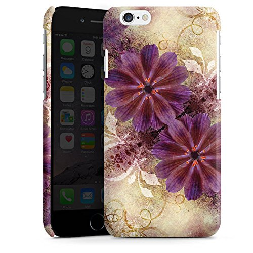 Apple iPhone 4 Housse Étui Silicone Coque Protection Ornements Abstrait Fleur Cas Premium brillant