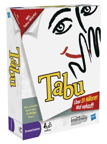 Hasbro 30658100 - Tabu - Edition 6 - 2012 (Tabu-spiel)