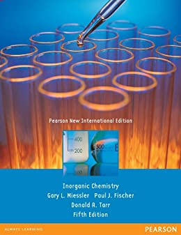 Inorganic Chemistry: Pearson New International Edition by [Miessler, Gary L., Fischer, Paul J., Tarr, Donald A.]