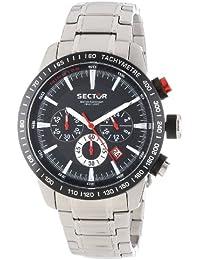 Sector Herren-Armbanduhr XL 850 Analog Quarz Edelstahl R3273975002