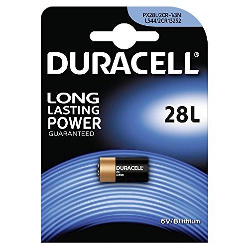 Duracell 2CR11108 Lithium Batterie (V28PXL) 2CR-1/3N, 28L PX28L L544, 6V 3n Lithium-batterie
