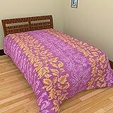 Bsb Trendz Polyester Floral Single Bedsh...