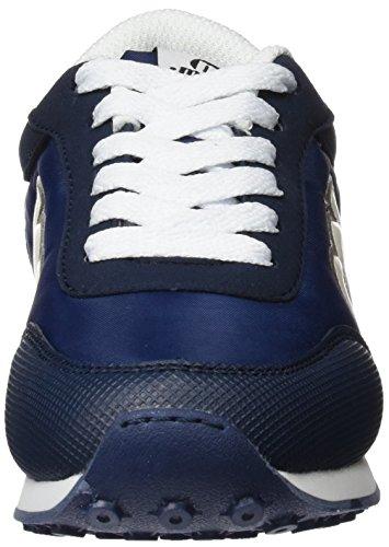 Mtng Unisex-Kinder Jogger Turnschuhe Blau (ACTION PU Marinoaction PU Weiß)
