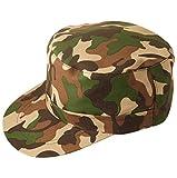 fitTek Army Kappe Kappen Militär Farbe Armycap Einheitsgröße