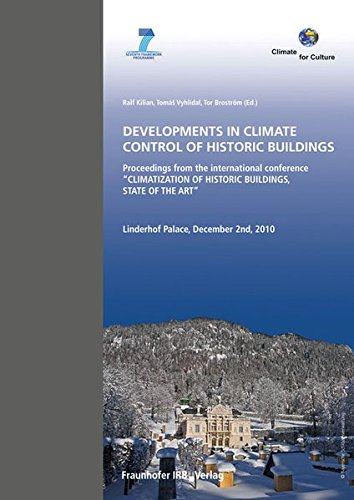Developments in Climate Control of Historic Buildings.: Proceedings from the International Conference