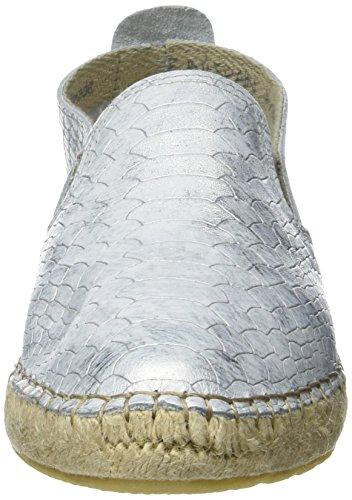 Buffalo 890580 Crotalo, Espadrilles Femme Argent (Plata 06)