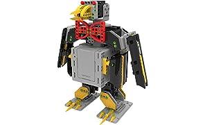 UBTECH - JIMU EXPLORATEUR - Robot motorisé éducatif et connecté - 7 servos moteurs - 372 pièces
