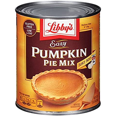 Libby's Easy Pumpkin Pie Mix 850g (30oz) (Pack of 3) - American Import