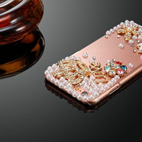 Phone case & Hülle Für IPhone 6 / 6s, Diamond verkrustete Juwel Fox Pattern PC Schutzhülle Back Cover ( SKU : IP6G1006G ) IP6G1006A
