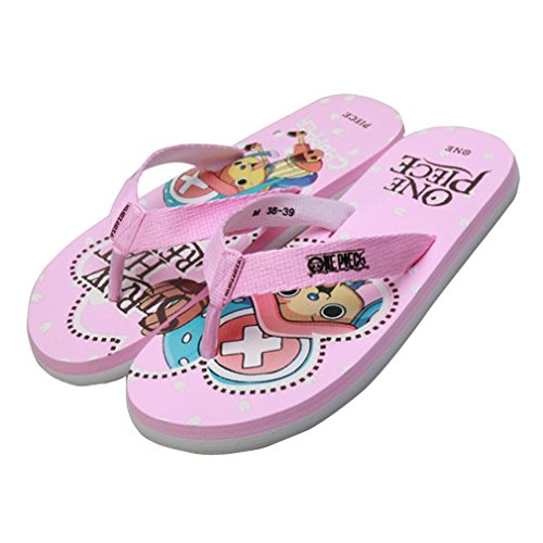 Bromeo One Piece Anime Unisex Flip Flops Zehentrenner Flip Pantoffeln 11