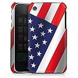 DeinDesign Apple iPhone 3Gs Housse étui coque protection Usa Drapeau Amérique Drapeau