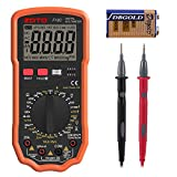 ZOTO Multimeter, TRMS 6000 Counts Digital Multi Auto Ranging Tester Electrical Voltmeter Ammeter