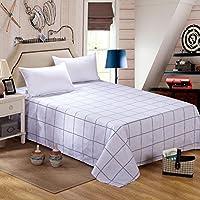Singola letto singolo matrimoniale lenzuola di cotone/ cotone a righe stampato biancheria da letto-V 160x230cm(63x91inch)