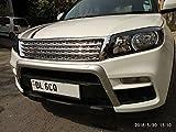 #5: VAIBN- Superior Quality Chrome Range Rover Grill for Maruti Suzuki Vitara BREZZA