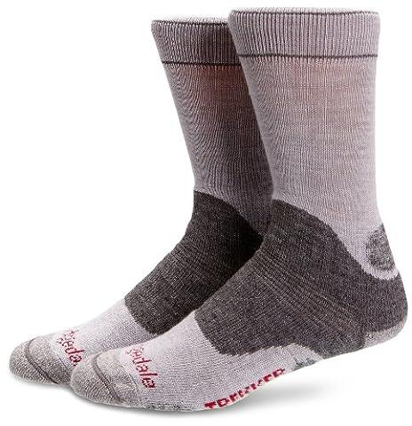 Bridgedale Woolfusion Trekker Women's Sock - Silver Grey, 5-6.5